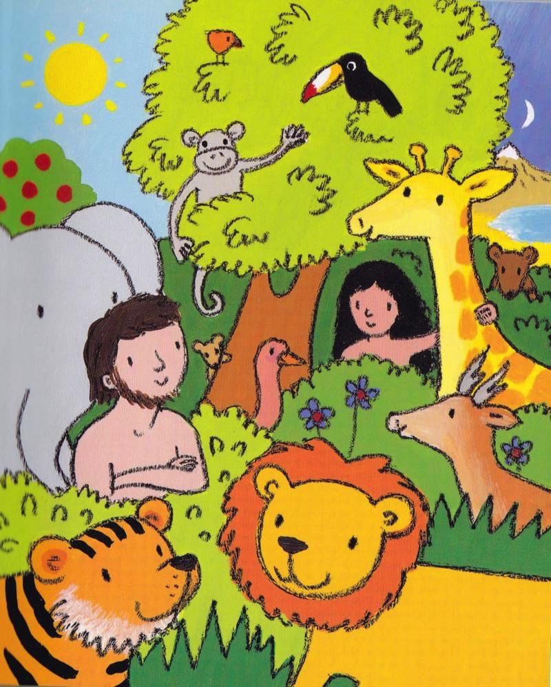 Garden Of Eden Landscape: Childrens' Illustration Galleries
